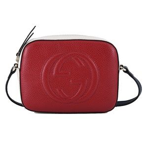 New Gucci Soho Disco 431567 Textured-leather Bag